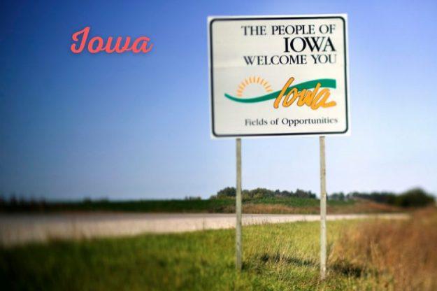 Iowa State Sign