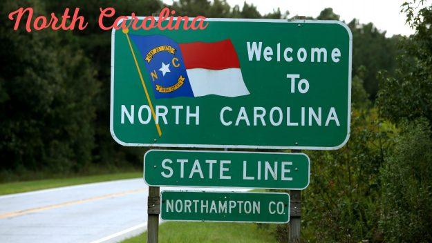 North Carolina heading