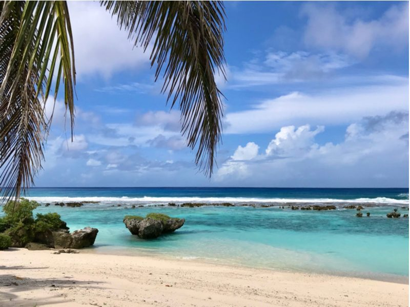 Northern Mariana Islands ocean view