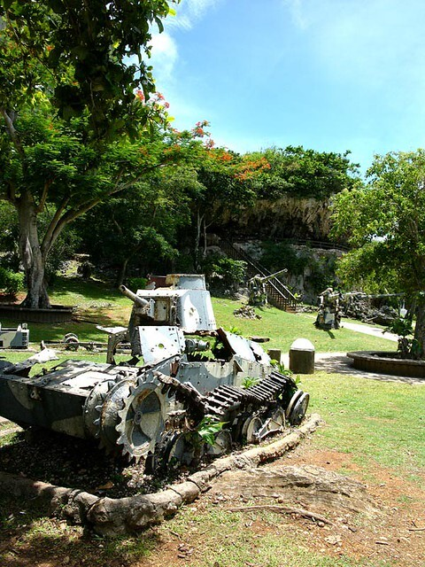 World War 2 relics in Northern Mariana Islands