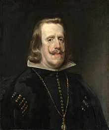King Philip iv of Spain