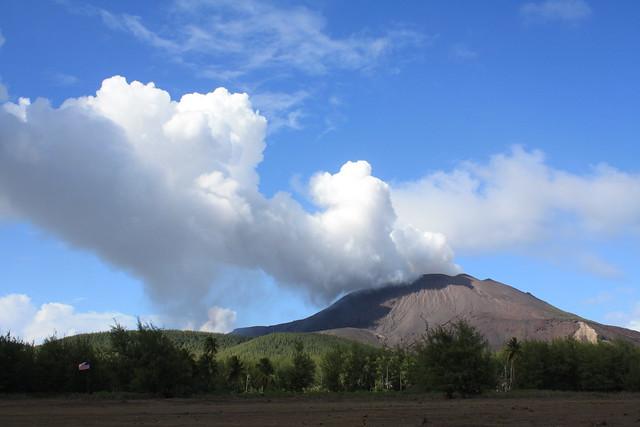 Volcano at CNMI
