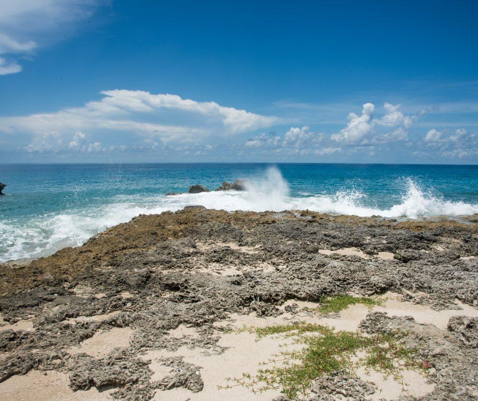 The terrain in St. Croix